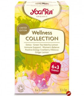 Zestaw herbat WELLNESS COLLECTION, 18 torebek, Yogi Tea