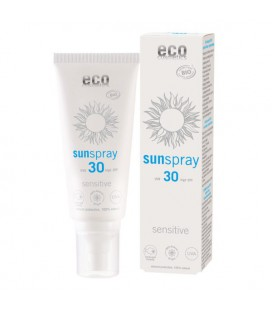 Spray na słońce SPF 30, Sensitive, z granatem i olejem z pestek maliny, 100 ml, Eco Cosmetics