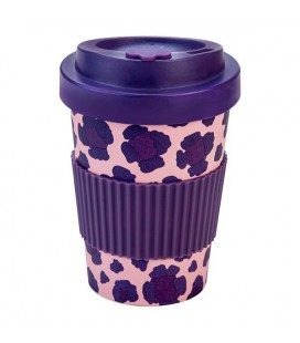 Kubek z bambusa, 300 ml, PIA purple, WoodWay
