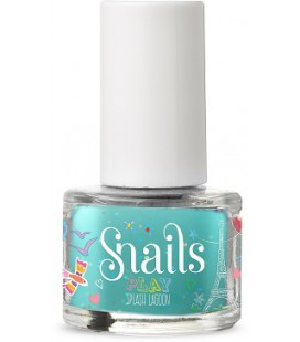 Mini lakier do paznokci Play Splash Lagoon, 7 ml, Snails