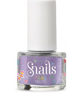 Mini lakier do paznokci Play Purple Comet, 7 ml, Snails