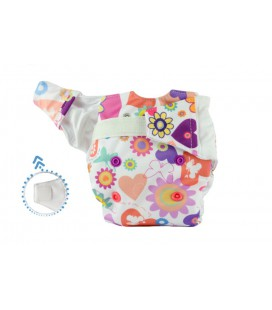 Pieluszka AIO (All-In-One), THUMBELINA, newborn, od 3,8 kg do 7 kg, rzep, MOMMY MOUSE