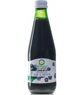 Sok z aronii BIO, 300 ml, Bio Food