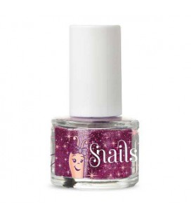 Brokat do paznokci PURPLE RED GLITTER, 7 ml, Snails